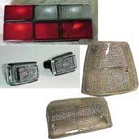 TILBUDSPAKKE 240-(244)83> 6 STK LAMPER/GLASS MED HVIT BLINK