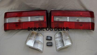 TILBUDSPAKKE 740 SEDAN( 4D) 90-92 MODELL  6 STK LAMPER