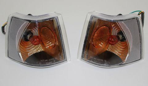 BLINKLAMPER 850-95>M/KLARGLASS USA TYPE M/REFLEKS I SIDEN