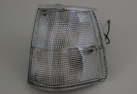 BLINK/PARKLAMPE 240-81-93 M/HVIT GLASS VENSTRE