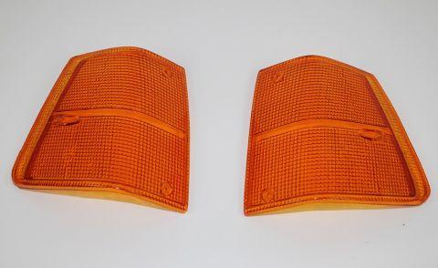 Blink/parkglass helorange 240/260 81-93 sett med begge sider