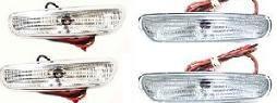 SIDEMARKERINGSLYS S/V40 1996-2000 (ALLE FASE 1) HELHVITE