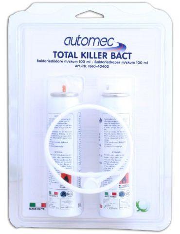 TOTAL KILLER BACT 2PACK/2STK 100ML.NY BIL LUKT