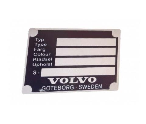 ID-plate 210/Amazon/P1800/140/160 alu.
