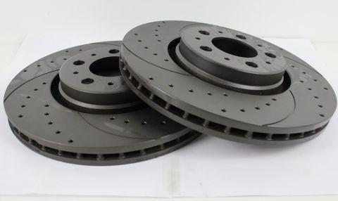BREMSESKIVE FORAN SLISSA/BORRET GraphiteXC90,V70,S60  316mm