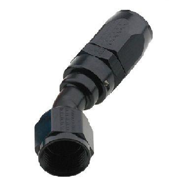 AN10 X 30 PRO-FLOW HOSE END  BLACK