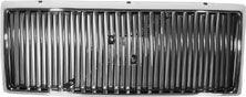 GRILL 940-91> CROM RAMME SORTE SPILER  UTEN EMBLEM