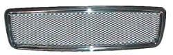 GRILL STYLING crom ramme/strekkmetall i senter S/C/V70