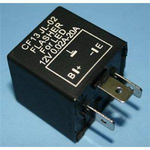 RELLE X-D LIGHT RELAY 3 PIN CF13 FOR LED AS INDECATER