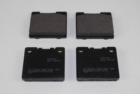 Bremsekloss sats bak 140/60 240/60  standard type