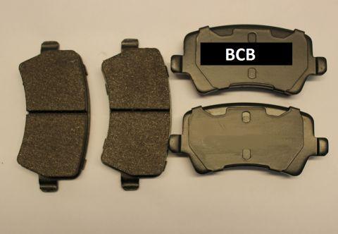 BREMSEKLOSSER BAK SATS. VOLVO S80 V70 V60 FOR EL-BRAKE