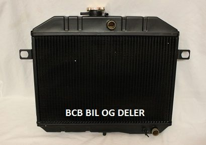 RADIATOR TIL VOLVO PV/DUETT/AMAZON B18 62-66-MOD