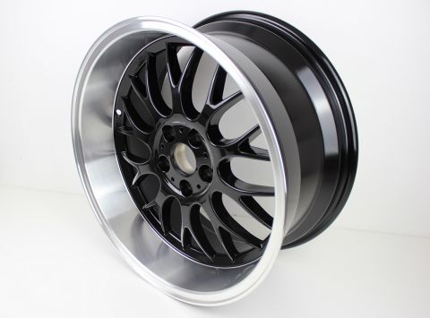 "FELG  DTM LOOK 8,5""X18  5x108 ET6 Sort Polish pris stk."