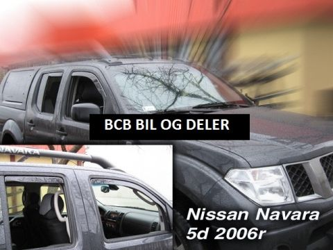 VINDAVVISERE NISSAN NAVARA / PICK UP 4d 2005>>