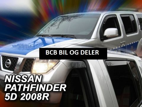 VINDAVVISERE NISSAN PATHFINDER 5D 2005> SETT 4 DØRER