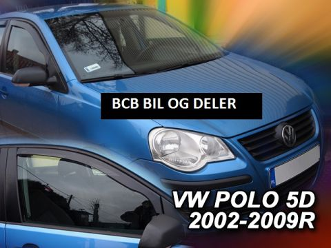 VINDAVVISERE VW POLO 5d 2002-2009  FOR FRAMDØRER