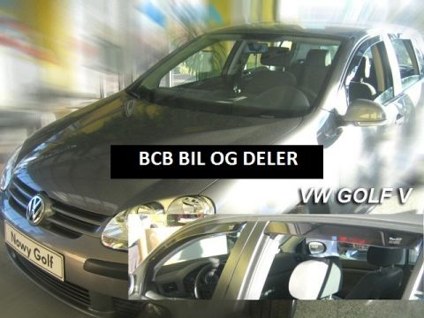 VINDAVVISERE VW GOLF V 5DØRS 2004>>>  SETT FOR 4 DØRER