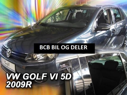 VINDAVVISERE VW GOLF VI 5D 2008>> SETT FOR 4 DØRER