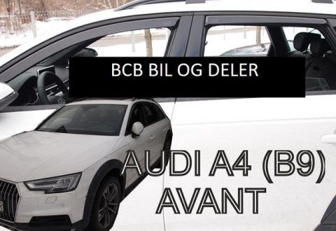 Vindavvisere Audi A4 (B9) Avant/Allroad/stv 2016>>sett4 stk
