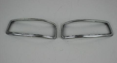 Blinklys crom ring Volvo 140 1967-1972 sett begge sider