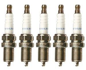 TENNPLUGGSETT FLESTE 5SYL 850,S/C/V70,S60,S80 uten turbo