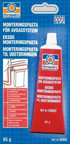 MONTERINGSPASTA PERMATEX FOR EKSOS 85GRAM TUBE