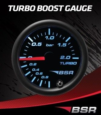 INSTRUMENT TURBOTRYKKSMÅLER 2.0 BAR BSR MULTICOLOR