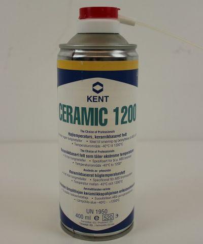 Keramikkbasert fett, Kent Ceramic 1200 spray 400ml.