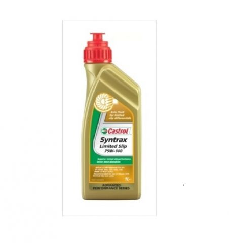 Olje Castrol Syntrax limited slip 75W140 for lamell diff 1L
