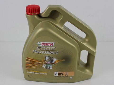 OLJE CASTROL OW30 I PROFESSIONAL A5 SERIEN  4LITER
