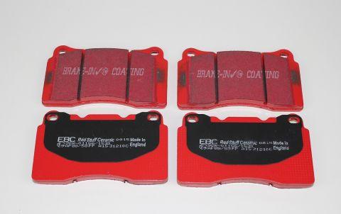 Bremsekloss sats foran S60R / V70R 2003-07 EBC Redstuff