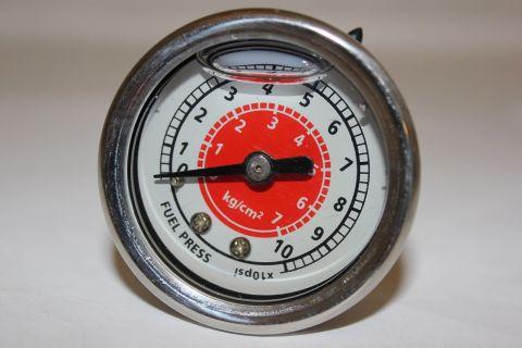 Manometer bensintrykk 0-7 BAR 1/8NPR Glyserin fylt