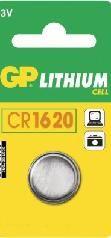 BATTERI CR1620 LITHIUM CELL STR Ø16X2 MM 3VOLT