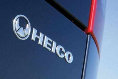 Heico emblem til bakklokk/luke i crom