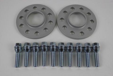 SPACER HEICO SETT 10mmx2 + bolter M14x1,5x48 senter 65,1mm