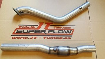 DOWNPIPE MED 16T 19T.FLENS m/100CELL CAT. 700/900