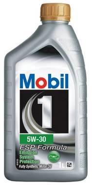OLJE MOBIL 1 ESP FORMULA 5W-30  MOTOROLJE 1LITER
