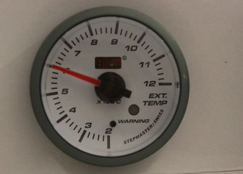INSTRUMENT AUTOGAUGE EKSOS-TEMP 52MM.