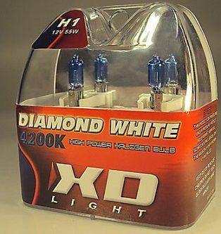 LYSPÆRE X-D LIGHT H1 DIAMOND WHITE  4200K - 55W
