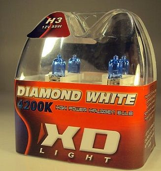LYSPÆRE X-D LIGHT H3 DIAMOND WHITE  4200K - 55W