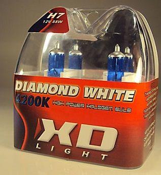 LYSPÆRE X-D LIGHT H7 DIAMOND WHITE  4200K - 55W