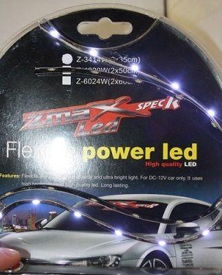 LYSSTRIPE X-D LIGHT SIDEVIEW LED STRIP WHITE 12V 60CM - PAIR