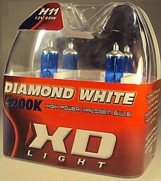 LYSPÆRE X-D LIGHT H8/H11 DIAMOND WHITE 4200K - 65W