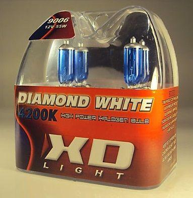 LYSPÆRE X-D LIGHT 9006/HB4 DIAMOND WHITE BULBS 4200K - 55W