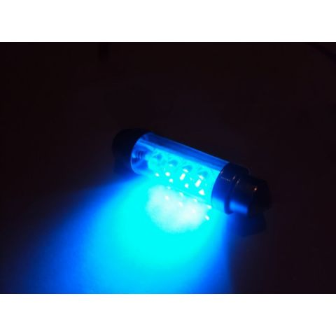 LYSPÆRE X-D LIGHT DOMELIGHT 44MM 8-LED BLUE - PAIR
