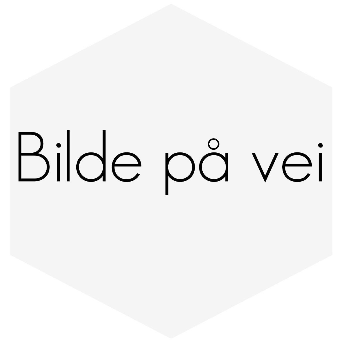 INSTRUMENT 52MM TURBOTRYKKMÅLER OPP TIL 2,0BAR HVIT SKIVE